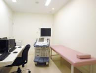 心臓エコー室